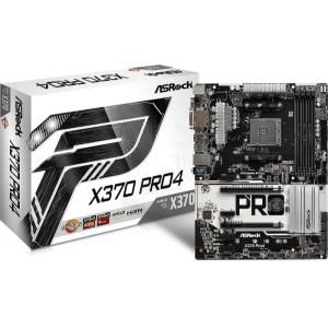 ASRock X370 Pro4 Socket AM4 AMD X370 DDR4 ATX Motherboard (90-MXB7T0-A0UAYZ)