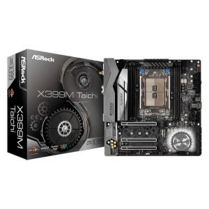 ASRock X399M Taichi Socket TR4 AMD X399 DDR4 Micro ATX Motherboard (90-MXB7B0-A0UAYZ)