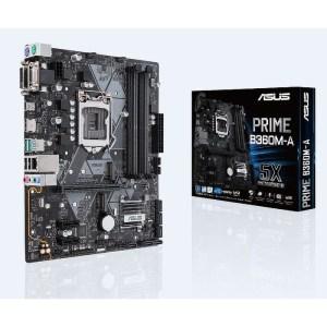 ASUS PRIME B360M-A LGA 1151 Intel B360 DDR4 Micro ATX Motherboard (90MB0WQ0-M0EAY0)