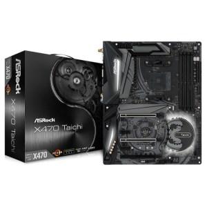ASRock X470 Taichi Socket AM4 AMD Promontory X470 DDR4 ATX Motherboard (X470 TAICHI)
