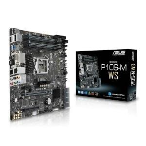 ASUS P10S-M WS LGA 1151 Intel C236 DDR4 Micro ATX Motherboard (90SB05Q0-M0EAY0)