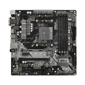 ASRock B450M Pro4 Socket AM4 AMD B450 DDR4 ATX Motherboard (B450M Pro4)