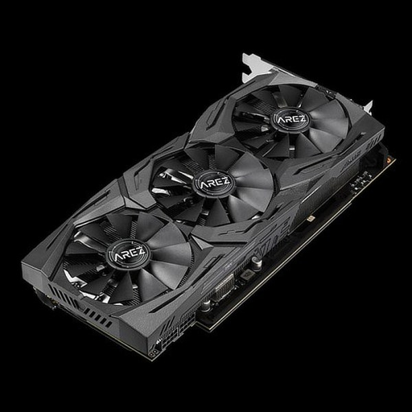 ASUS Radeon RX Vega 56 Arez Strix Gaming OC 8GB HBM2 Graphics Card (90YV0B53-M0NA00)