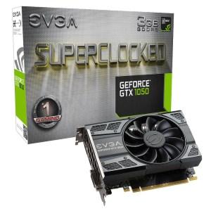 EVGA GeForce GTX 1050 SC Gaming 3GB GDDR5 Graphics Card (03G-P4-6153-KR)