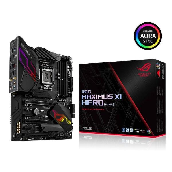ASUS ROG MAXIMUS XI HERO (WI-FI) LGA 1151 Intel Z390 DDR4 ATX Motherboard (90MB0XR0-M0EAY0)