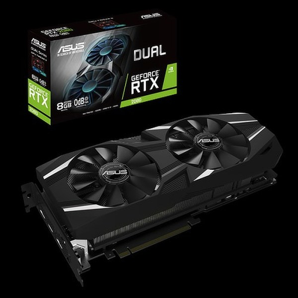 ASUS GeForce RTX 2080 DUAL 8GB GDDR6 Graphics Card (90YV0C33-M0NM00)