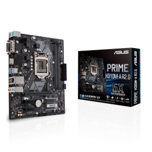 ASUS PRIME H310M-A R2.0 LGA 1151 Intel H310 DDR4 Micro ATX Motherboard (90MB0Z10-M0EAYC)