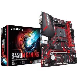 Gigabyte B450M GAMING Socket AM4 AMD B450 DDR4 Micro ATX Motherboard (B450M GAMING)