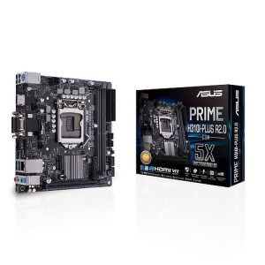 ASUS PRIME H310I-PLUS R2.0/CSM LGA 1151 Intel H310 DDR4 Mini ITX Motherboard (90MB1090-M0EAYC)
