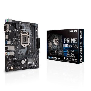 ASUS PRIME H310M-A R2.0 LGA 1151 Intel H310 DDR4 Micro ATX Motherboard (90MB0YL0-M0ECY0)