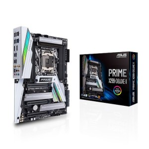 ASUS Prime X299-Deluxe II LGA 2066 Intel X299 DDR4 ATX Motherboard (90MB0ZB0-M0EAY0)