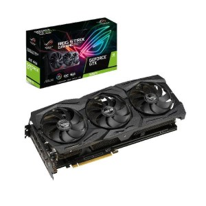 ASUS GeForce GTX 1660 Ti ROG Strix Gaming OC 6 GB GDDR6 Graphics Card (ROG-STRIX-GTX1660TI-O6G-GAMING)