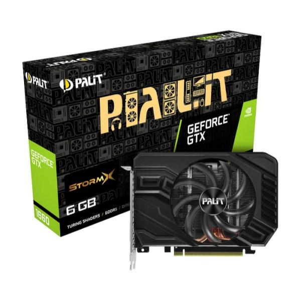 Palit GeForce GTX 1660 StormX 6 GB GDDR5 Graphics Card (NE51660018J9-165F)