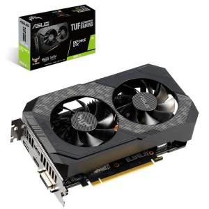 ASUS GeForce GTX 1660 Ti TUF Gaming 6 GB GDDR6 Graphics Card (TUF-GTX1660TI-6G-GAMING)