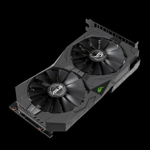 ASUS GeForce GTX 1650 ROG Strix Gaming OC 4 GB GDDR5 Graphics Card (ROG-STRIX-GTX1650-O4G-GAMING)