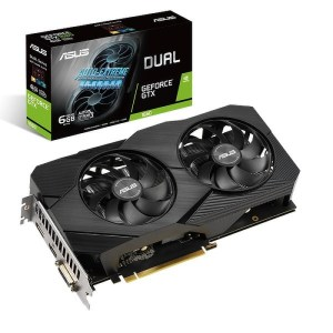 ASUS GeForce GTX 1660 DUAL OC EVO 6 GB GDDR5 Graphics Card (90YV0D11-M0NA00)