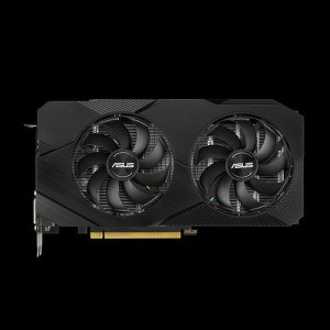 ASUS GeForce RTX 2060 DUAL EVO 6 GB GDDR6 Graphics Card (DUAL-RTX2060-6G-EVO)