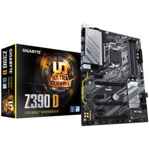 Gigabyte Z390 D LGA 1151 Intel Z390 Express DDR4 ATX Motherboard (Z390 D)