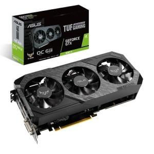 ASUS GeForce GTX 1660 Ti TUF3 Gaming OC 6 GB GDDR6 Graphics Card (TUF3-GTX1660TI-O6G-GAMING)