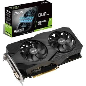 ASUS GeForce GTX 1660 SUPER DUAL EVO Advanced 6 GB GDDR6 Graphics Card (90YV0DS4-M0NA00)
