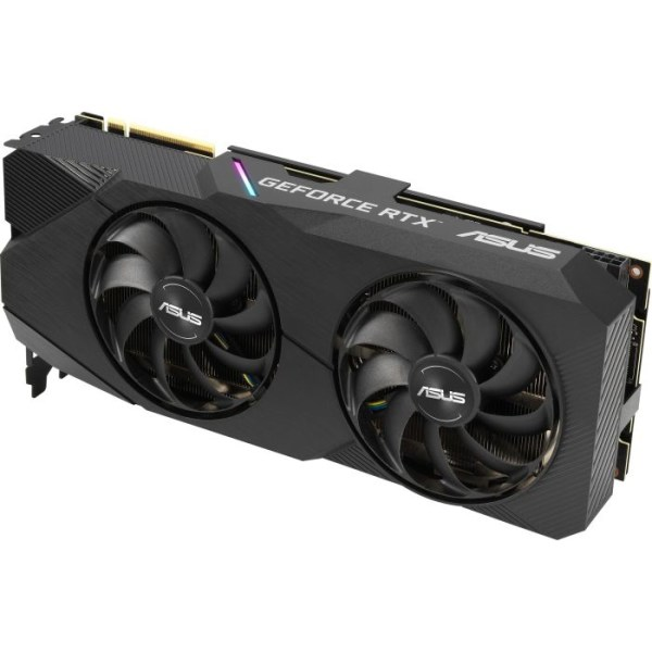 ASUS GeForce RTX 2060 SUPER DUAL EVO OC V2 8 GB GDDR6 Graphics Card (90YV0DZ0-M0NA00)