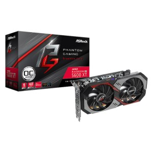 ASRock Radeon RX 5600 XT Phantom Gaming D2 6 GB GDDR6 Graphics Card (90-GA1WZZ-00UANF)