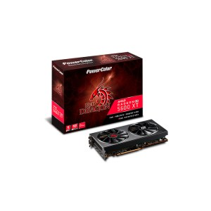 PowerColor Radeon RX 5600 XT Red Dragon 6 GB GDDR6 Graphics Card (AXRX 5600XT 6GBD6-3DHR/OC)