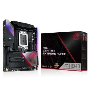 ASUS ROG Zenith II Extreme Alpha sTRX4 AMD TRX40 DDR4 Extended ATX Motherboard (90MB14K0-M0EAY0)