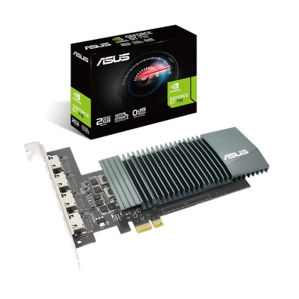 ASUS GeForce GT 710 2 GB GDDR5 Graphics Card (90YV0E60-M0NA00)