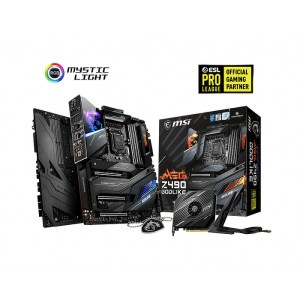 MSI MEG Z490 GODLIKE LGA 1200 Intel DDR4 Extended ATX Motherboard (MEG Z490 GODLIKE)