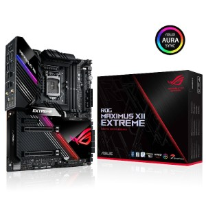 ASUS ROG MAXIMUS XII EXTREME Z490 LGA 1200 Intel Z490 DDR4 Extended ATX Motherboard (90MB12J0-M0EAY0)