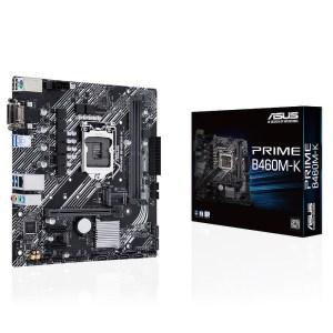 ASUS PRIME B460M-K LGA 1200 Intel B460 DDR4 Micro ATX Motherboard (90MB1400-M0EAY0)