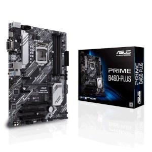 ASUS PRIME B460-PLUS LGA 1200 Intel B460 DDR4 ATX Motherboard (90MB13J0-M0EAY0)