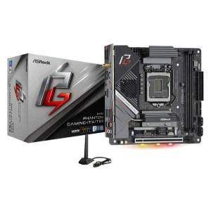 ASRock Z490 Phantom Gaming-ITX/TB3 LGA 1200 Intel Z490 DDR4 Mini ITX Motherboard (Z490 PHANTOM GAMING-ITX/TB3)