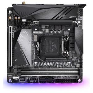 Gigabyte Z490I AORUS ULTRA (rev. 1.x) LGA 1200 Intel Z490 DDR4 Mini ITX Motherboard (Z490I AORUS ULTRA)