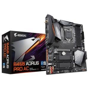 Gigabyte B460 AORUS PRO AC LGA 1200 Intel DDR4 ATX Motherboard (B460 AORUS PRO AC)
