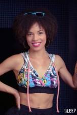 Sasha Hutchings (Hamilton) wearing David Dalrymple Designs