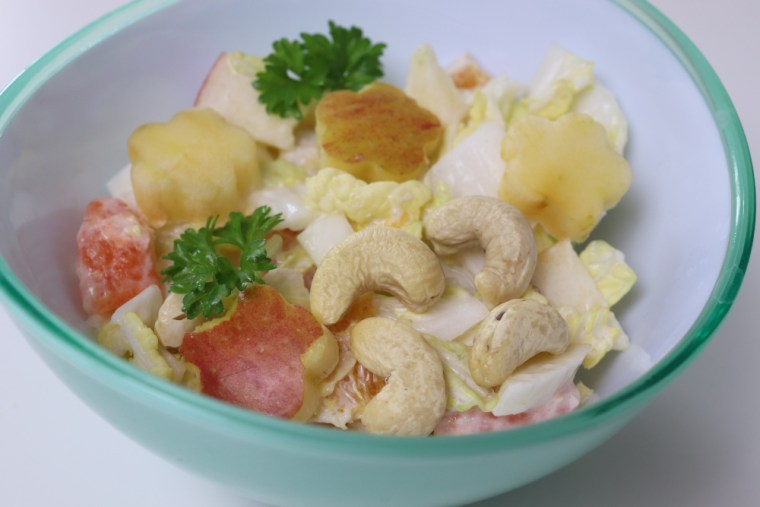 Chinakohl_Salat_für_Kinder