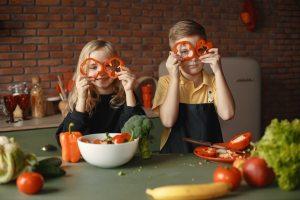 Gemüse Kind
