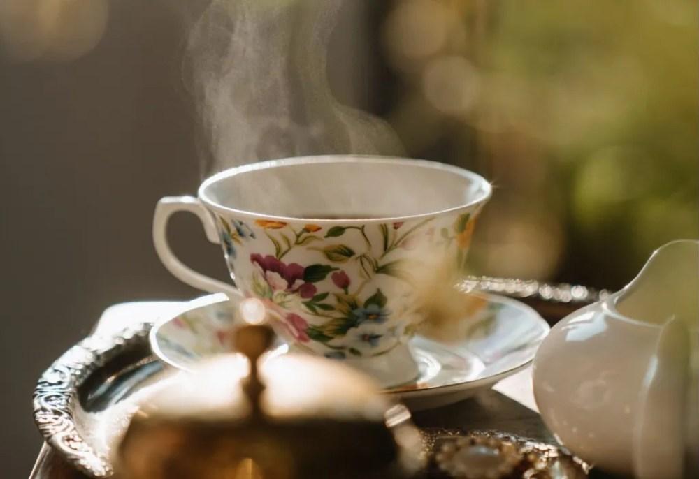Beruhigende Kräuter Tee