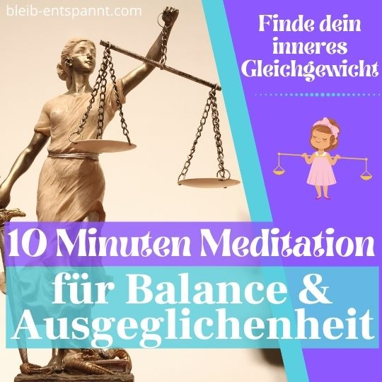 ausgeglichener werden