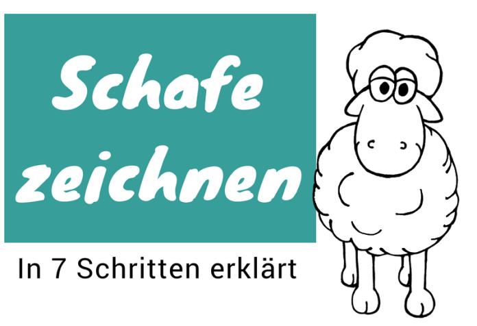 Schafe zeichnen lernen
