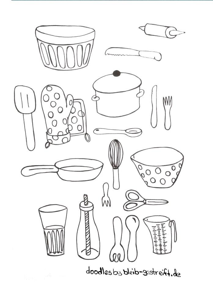 Doodles Küche. Doodles kitchen