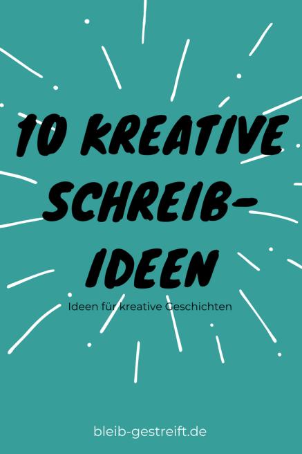 kreative Schreibideen