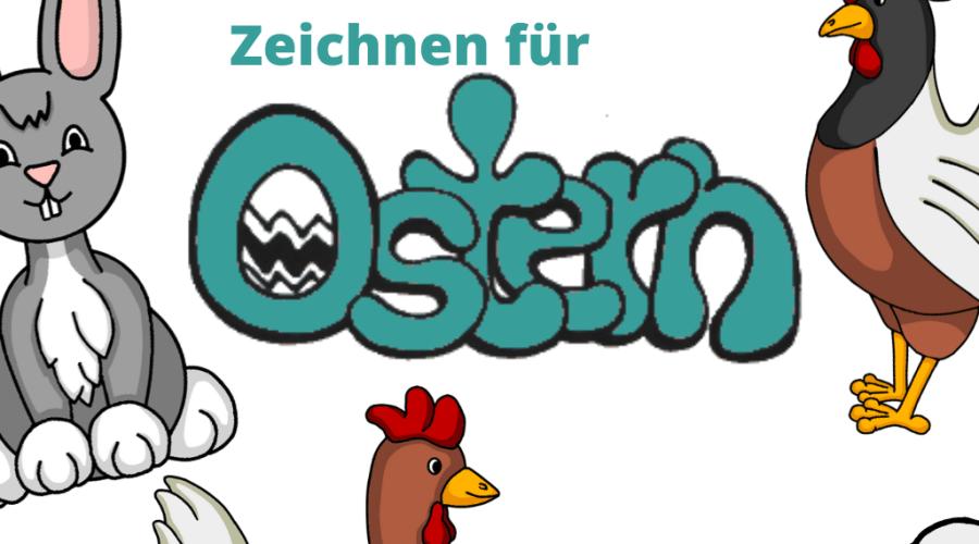 Zeichnen für Ostern