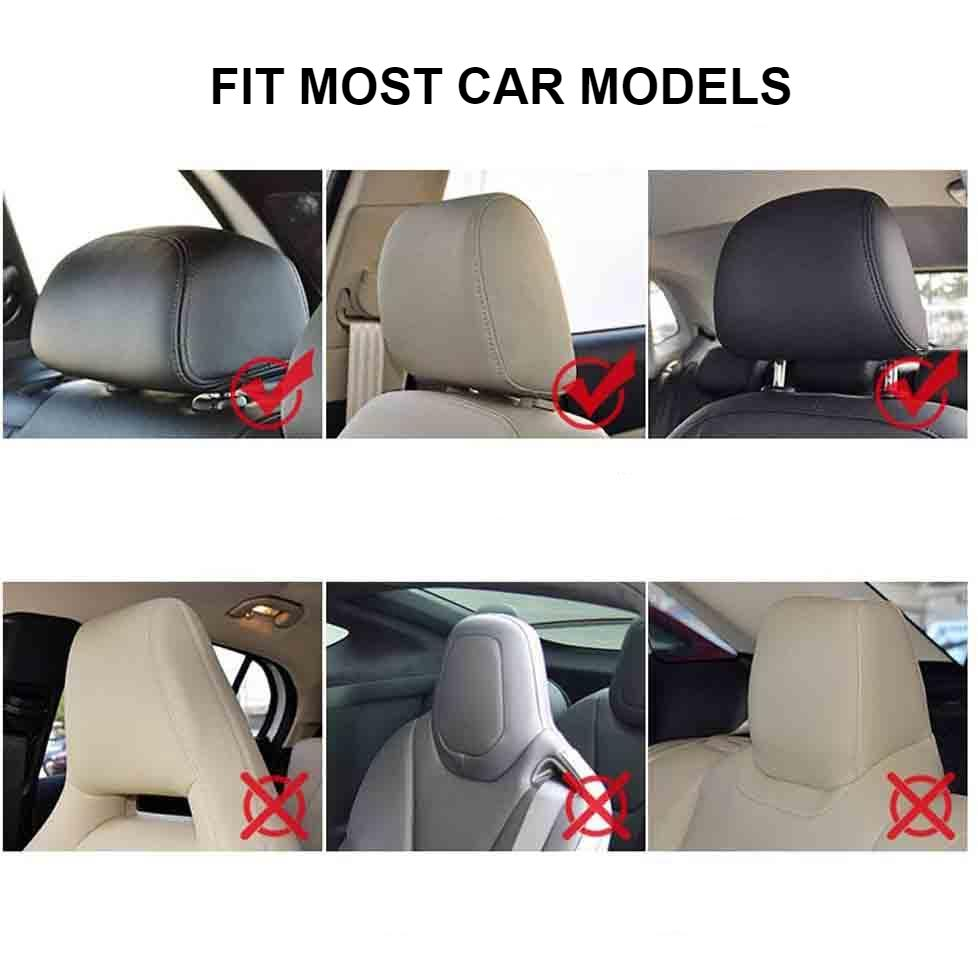 Premium Car Seat Headrest Pillows4