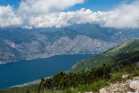 Gardasee vom Monte Baldo aus gesehen
