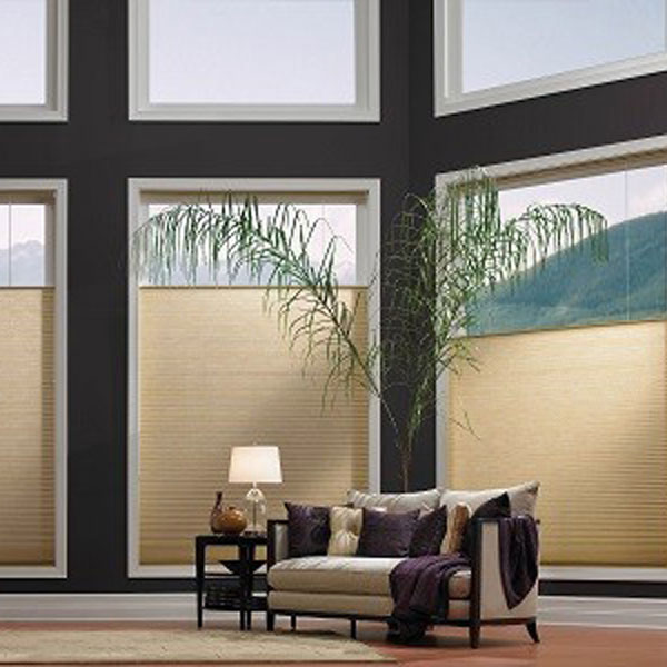 Honeycomb blinds from Blended Blinds