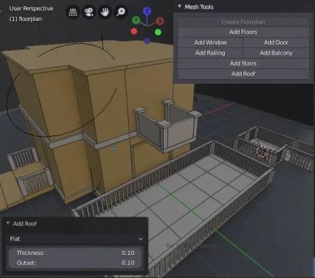 Building Tools UI