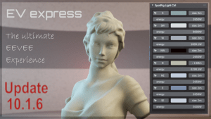 EV Express addon for Blender 2.80